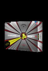 Callaway Callaway Chromesoft X Yellow Truvis Dozen