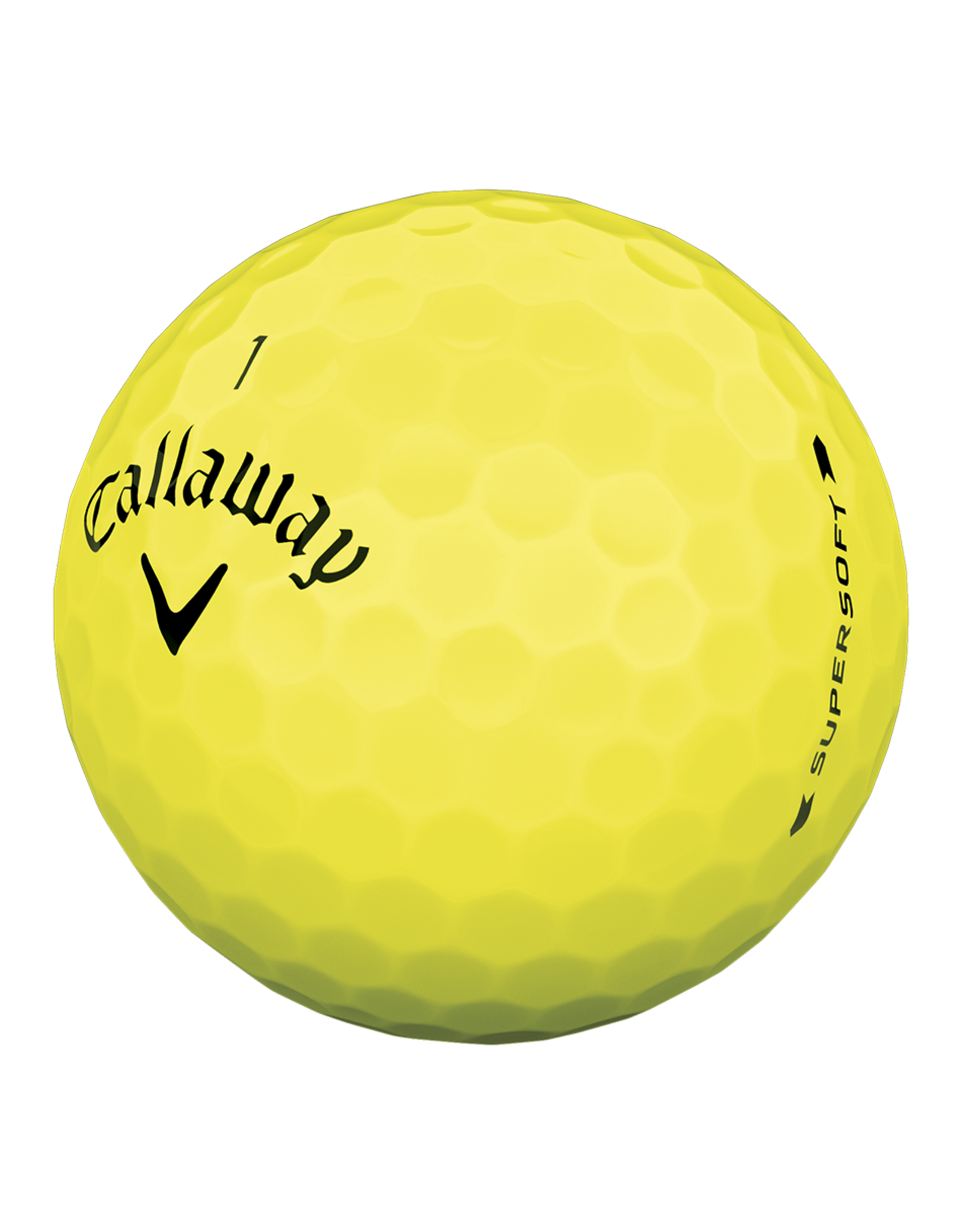 Callaway Calawah Supersoft Yellow Dozen