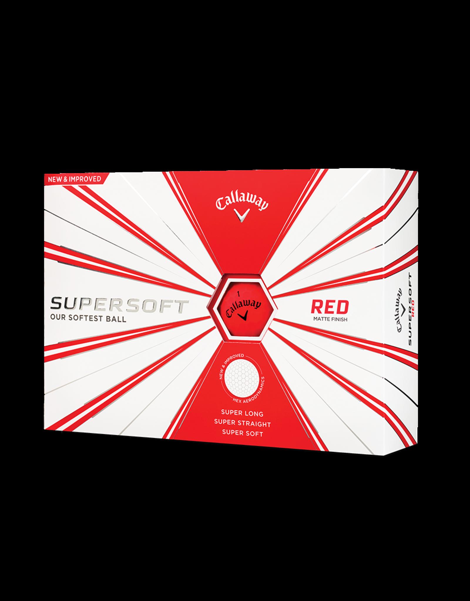 Callaway Callaway Supersoft Matte Red Dozen