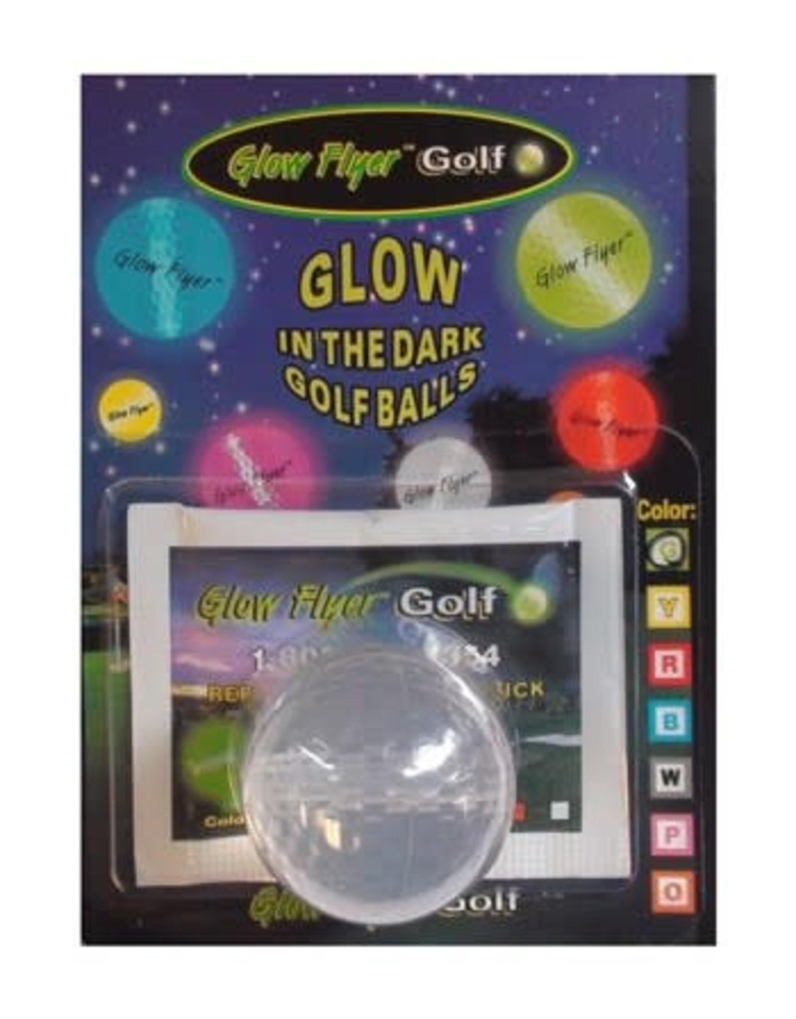 Basic Accesories Glow Flyer Golf Balls