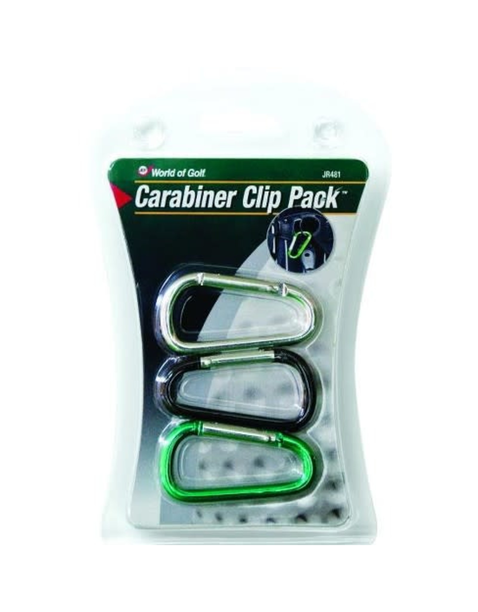 Basic Accesories WOG Carabiner Clip 3pck