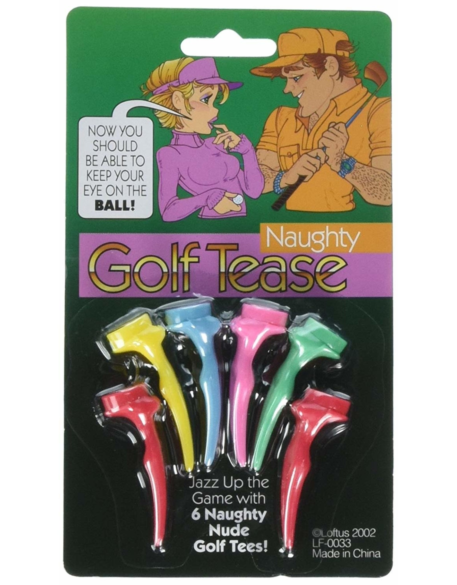 tees Naughty Golf Tease