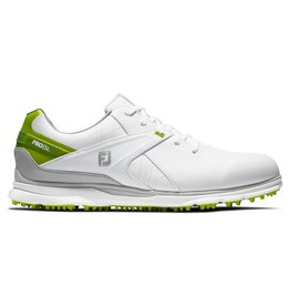FJ FJ Pro SL White and Neon