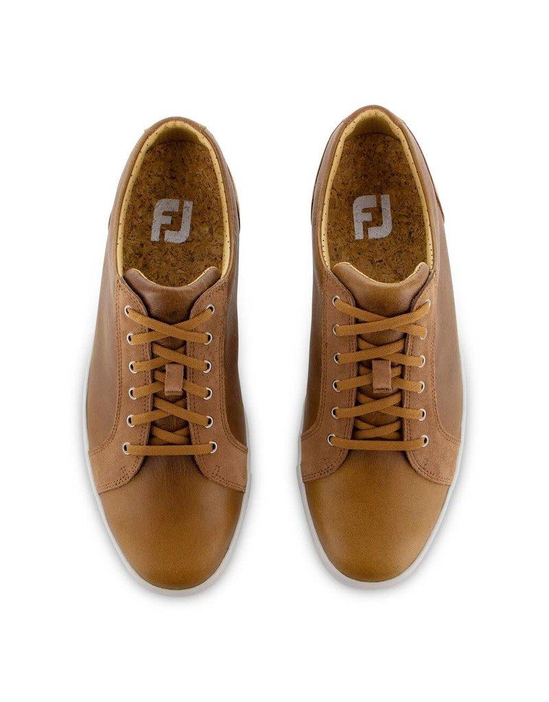 FJ FJ Club Casuals Blucher Tan