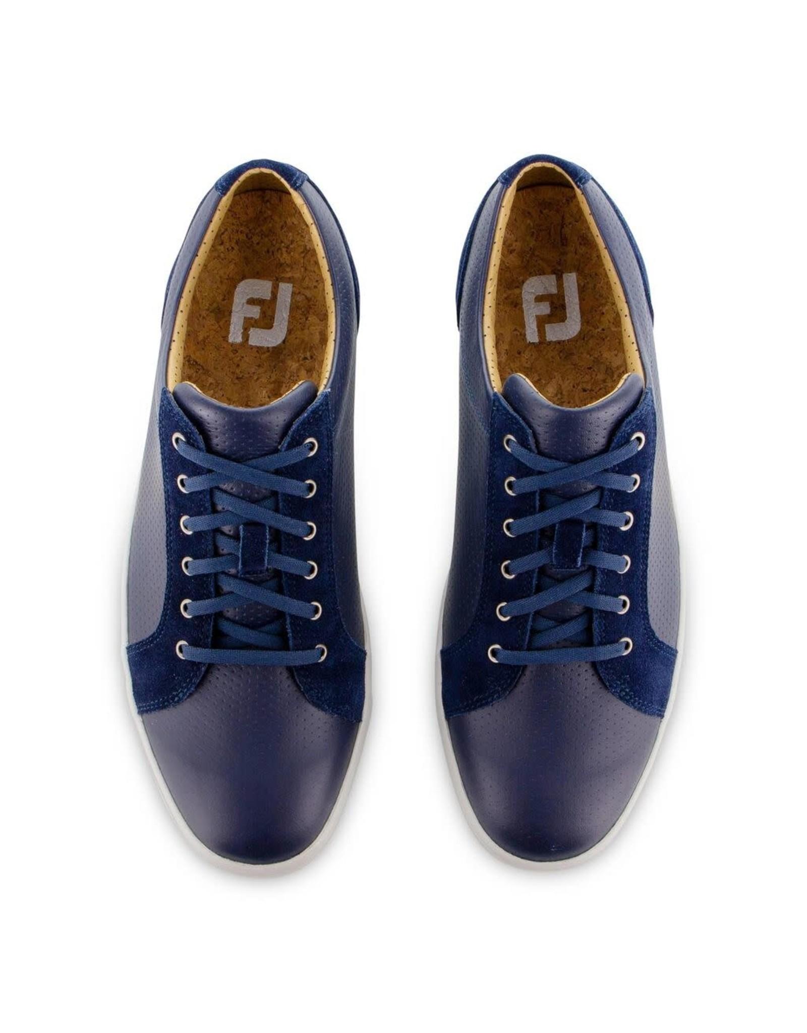 FJ FJ Club Casuals Blucher Blue