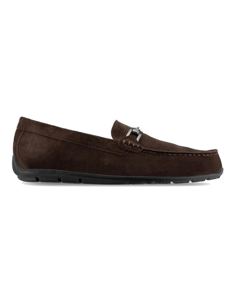FJ FJ lub Casuals Suede Loafer Brown