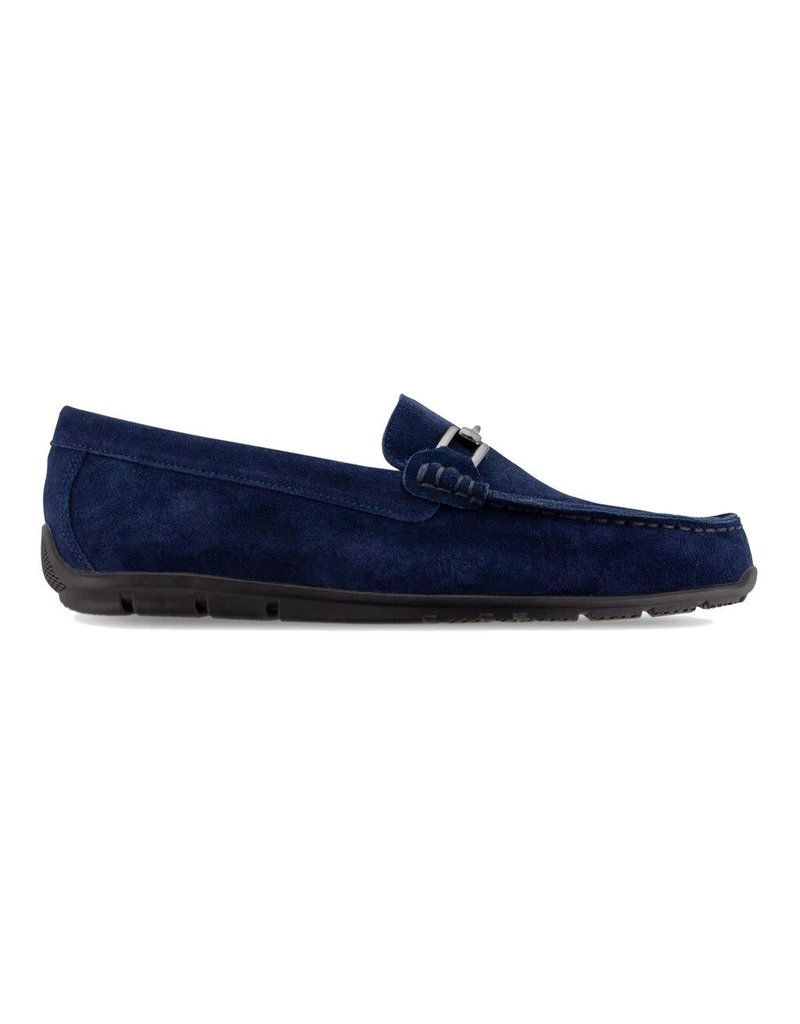 FJ FJ Club Casuals Suede Loafer Navy