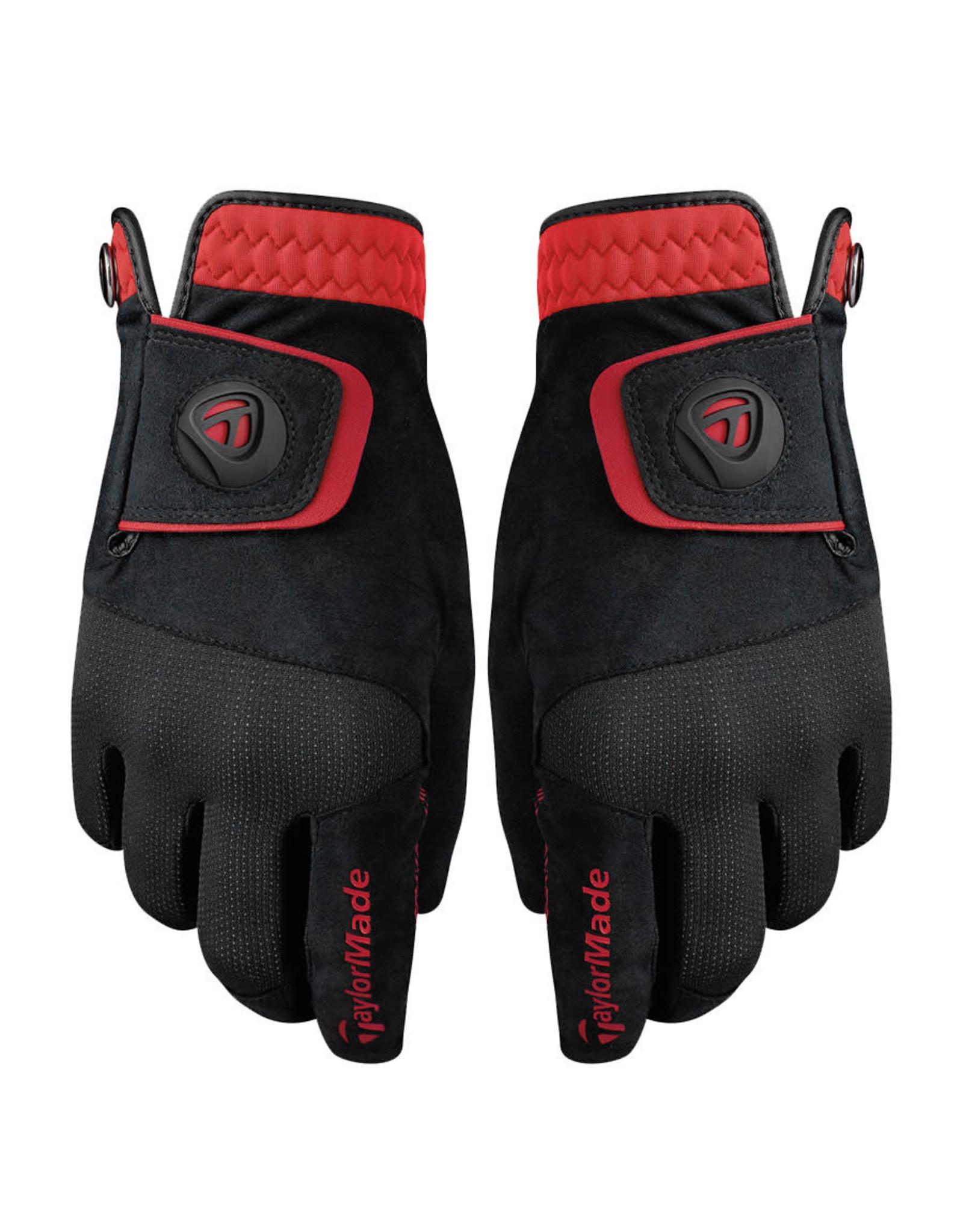 Taylormade Taylormade Rain Control Gloves Black/Reg
