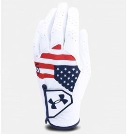 Under armour UA Boy's CoolSwitch — Spieth Jr. Edition RWB Glove