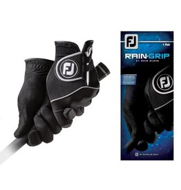 FJ FJ Rain Grip Black Gloves