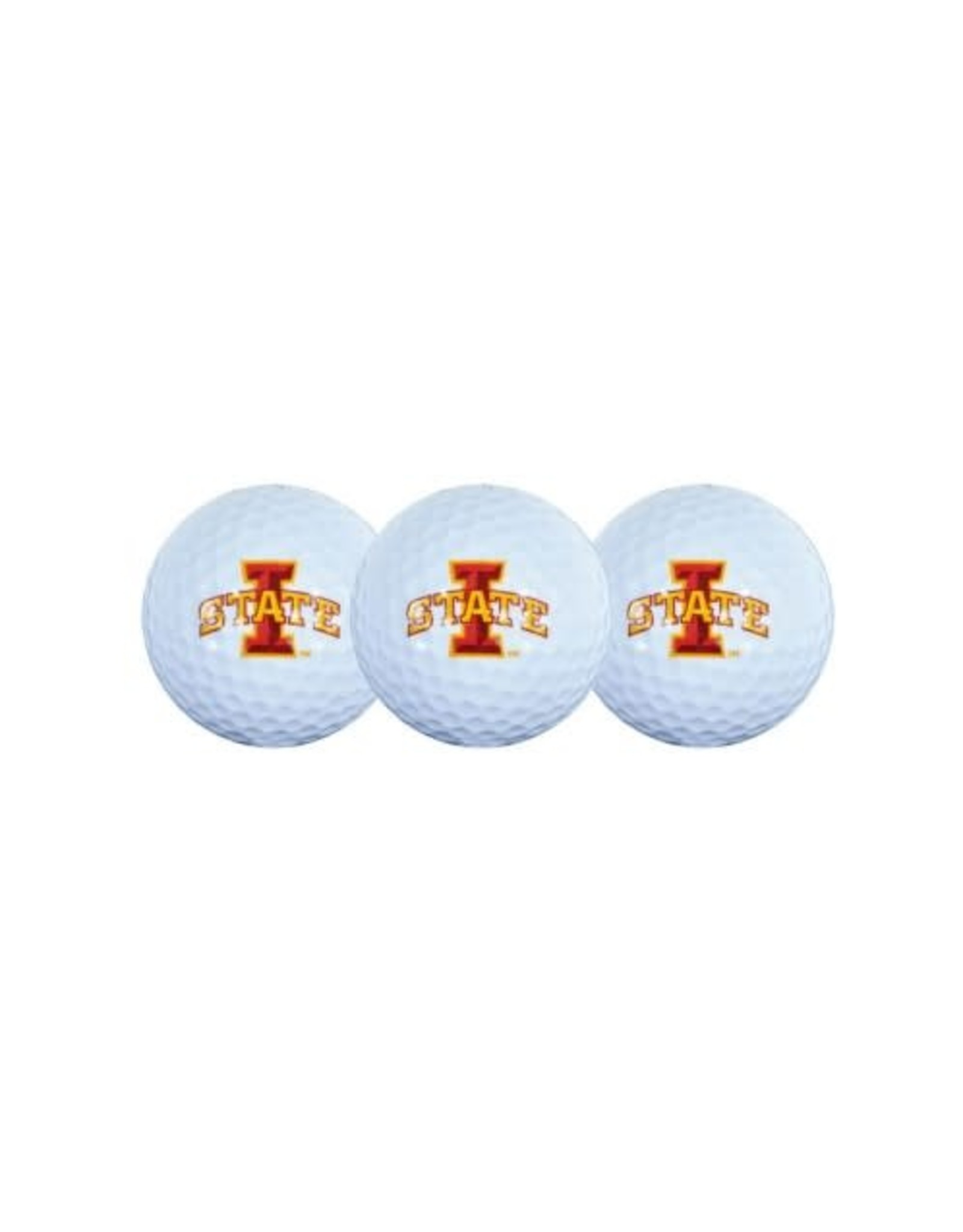 Team Effort Team Effort ISU 3pck Golf Balls
