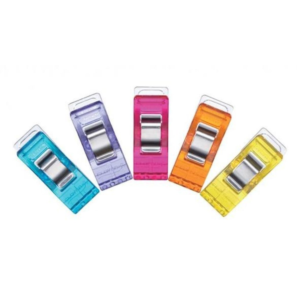 Clover 50 Piece Assorted Colors Wonder Clips