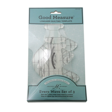 Good Measure A. Murphy Every Wave 3pc Templates Longarm