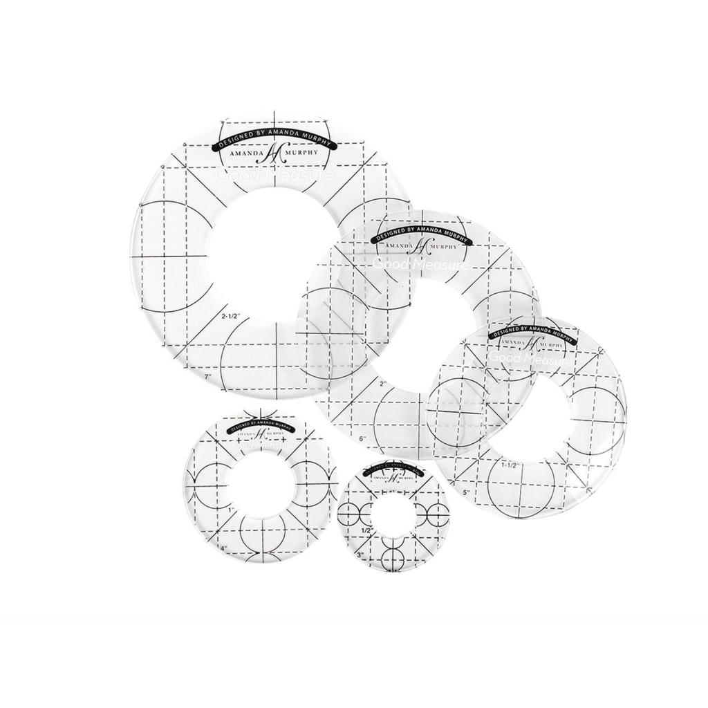 Good Measure Amanda Murphy 5pc Circle Set for Longarm Machines