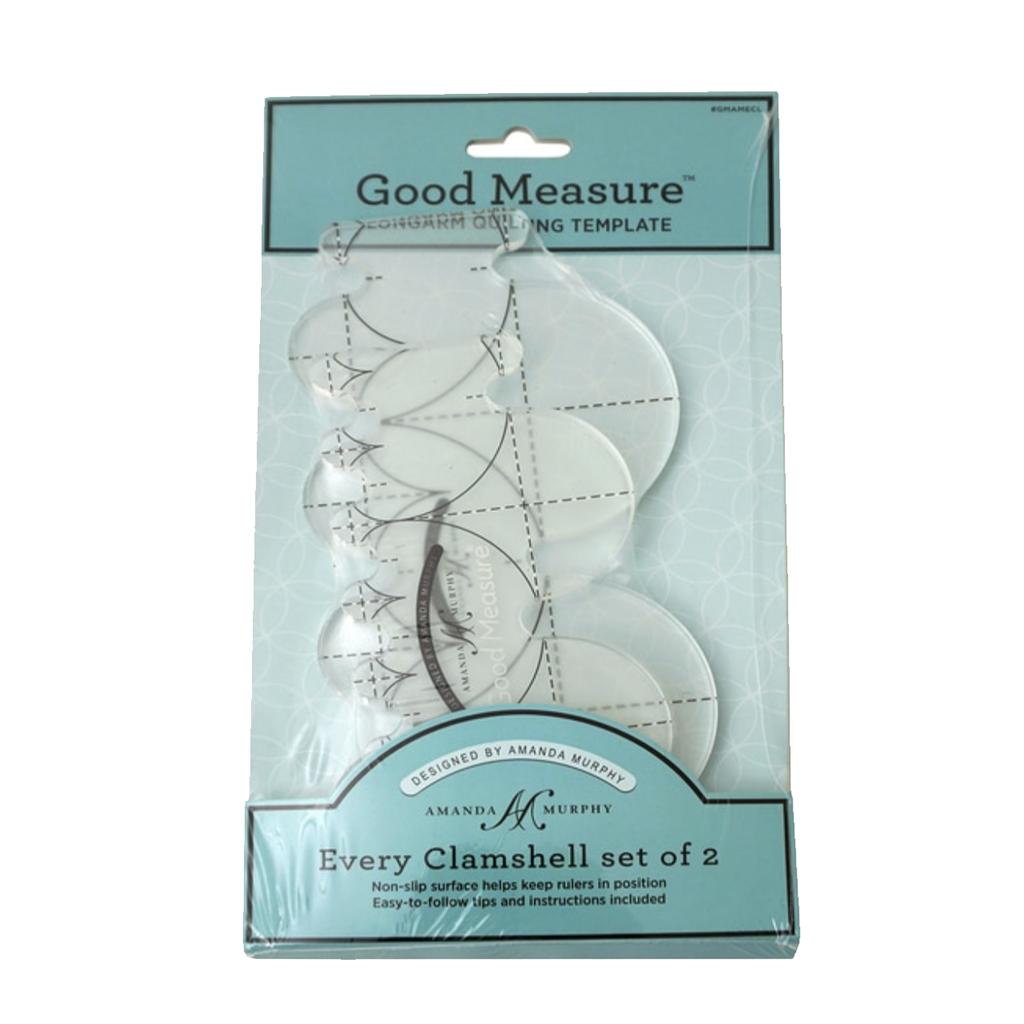 Good Measure Amanda Murphy Clamshell 2pc Set Longarm Machines