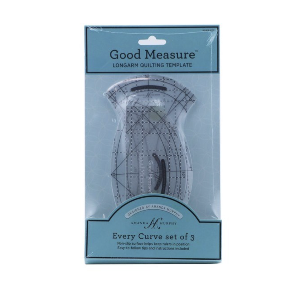 Good Measure A. Murphy Every Curve 3pc Template Set Longarms