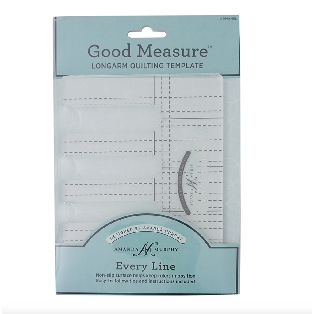 Good Measure A. Murphy Every Line Longarm Quilting Template