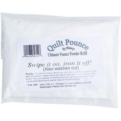 Hancy White Ultimate Quilt Pounce Chalk Refill, 2 oz