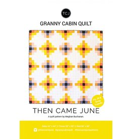 GRANNY CABIN QUILT - THEN CAME JUNE