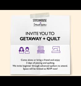 Getaway & Quilt- 3 Day Retreat-HQ