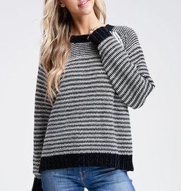 Chenille Braid Sweater