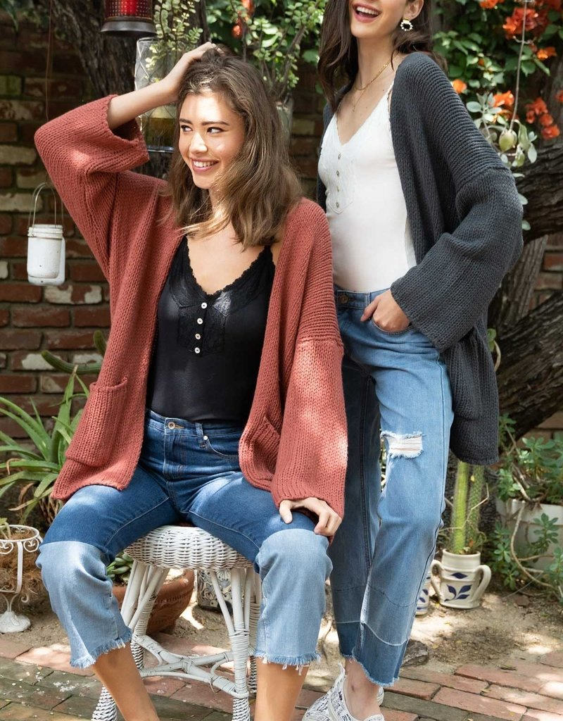 Ginger Open Knit Cardigan