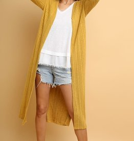 Duster Cardigan-Multiple colors