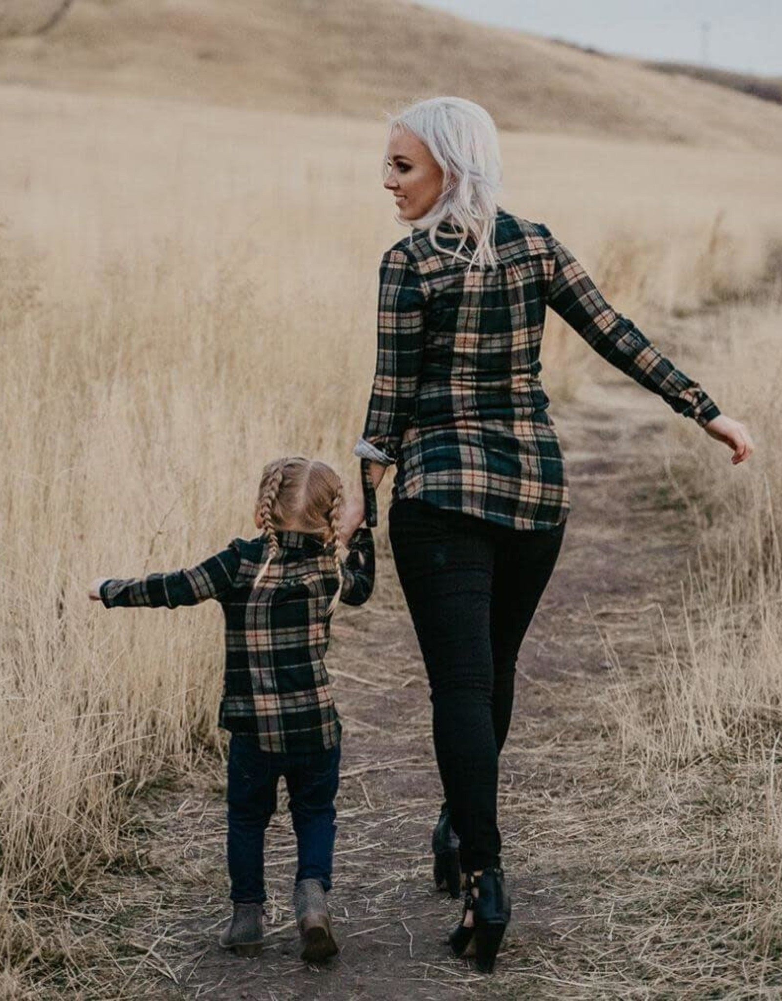 Dawn Flannel (3 Different Color Combos)