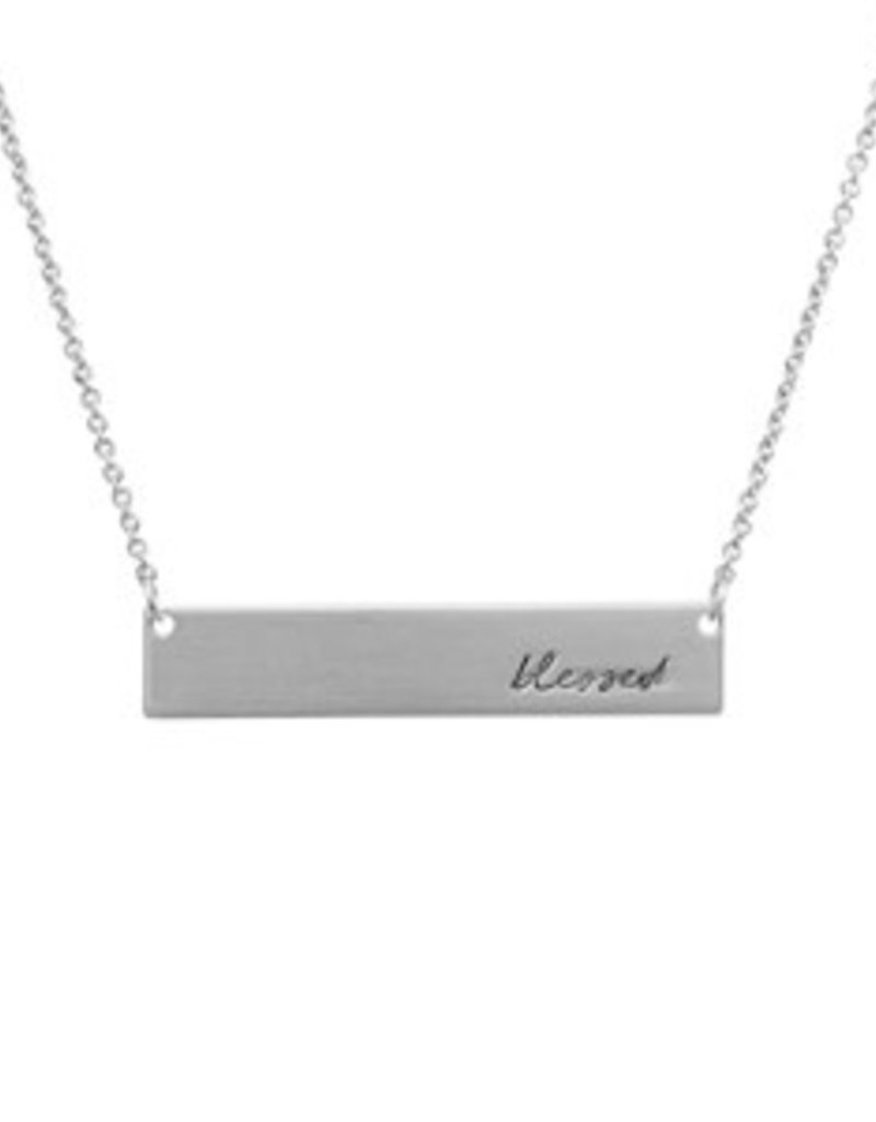 Blessed necklace-silver