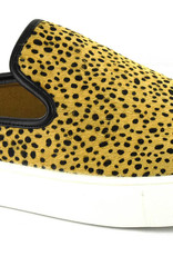 Oleanders Boutique Leopard speckled slip on tenni