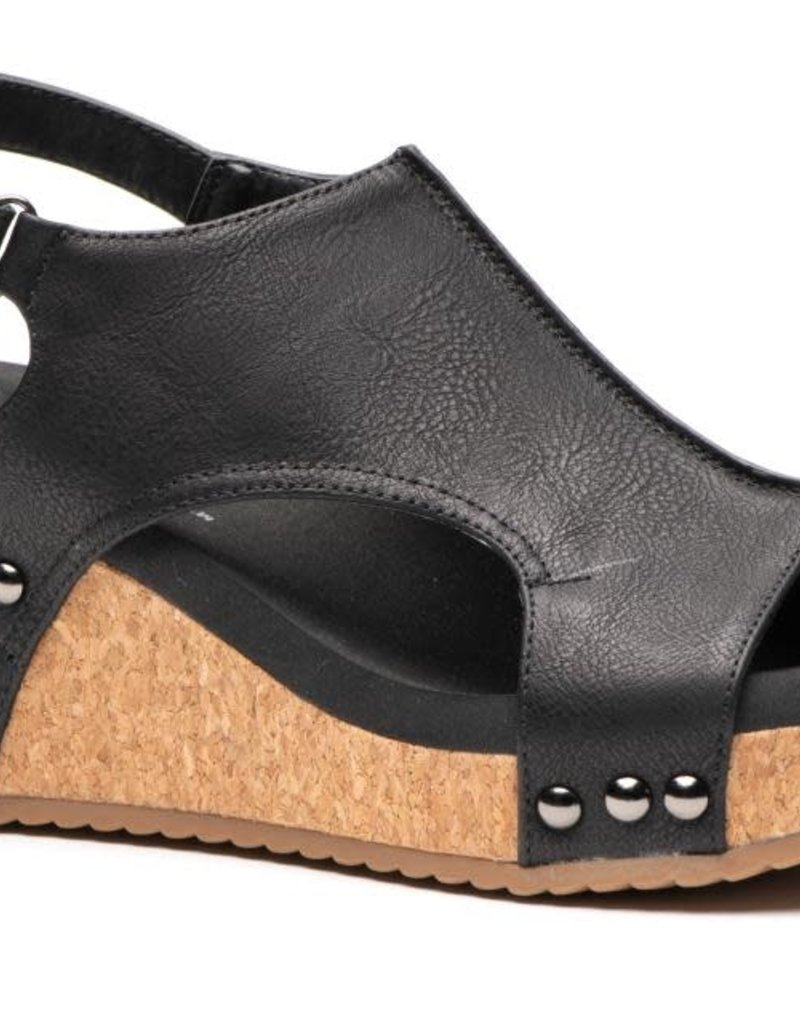 Oleanders Boutique Carley edgy wedge