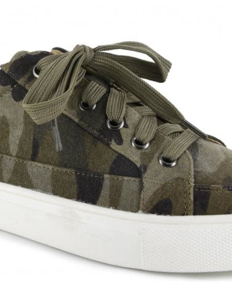 Oleanders Boutique Camo sneaker