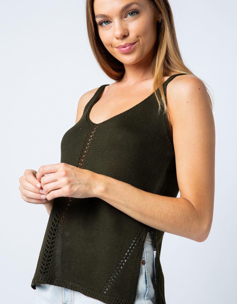 Oleanders Boutique Knit Tank Top