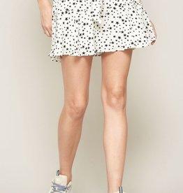Polagram & BaeVely Star Splattered Paperbag Shorts