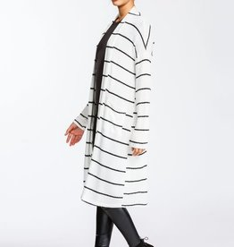 Oleanders Boutique Striped lightweight cardigan
