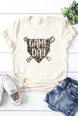 Oleanders Boutique Cheetah baseball graphic