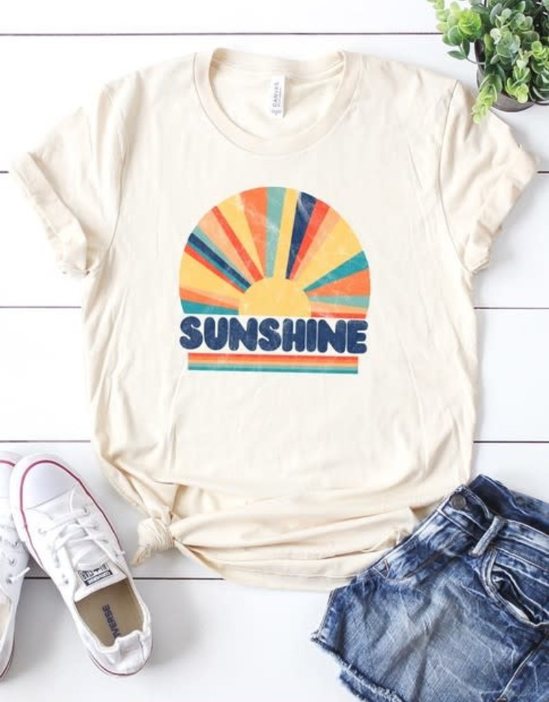 Oleanders Boutique Sunshine graphic tee