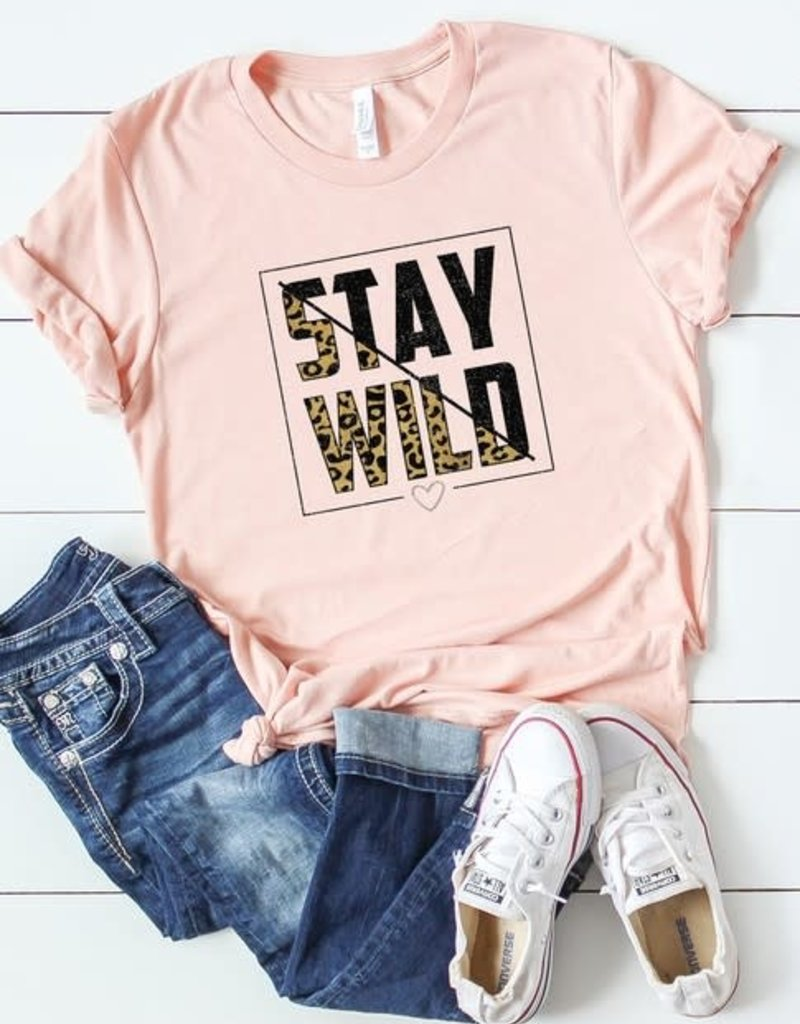 Oleanders Boutique Stay Wild graphic