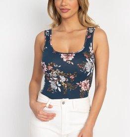 Oleanders Boutique Floral bodysuit