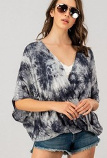 Oleanders Boutique Tie dye criss cross