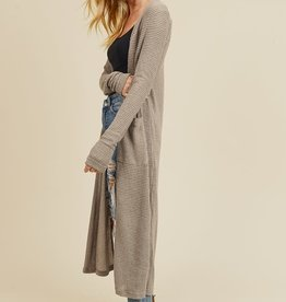 Oleanders Boutique Waffle knit duster