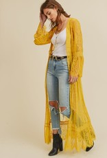 Oleanders Boutique Lace Duster