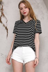 Oleanders Boutique Striped soft basic