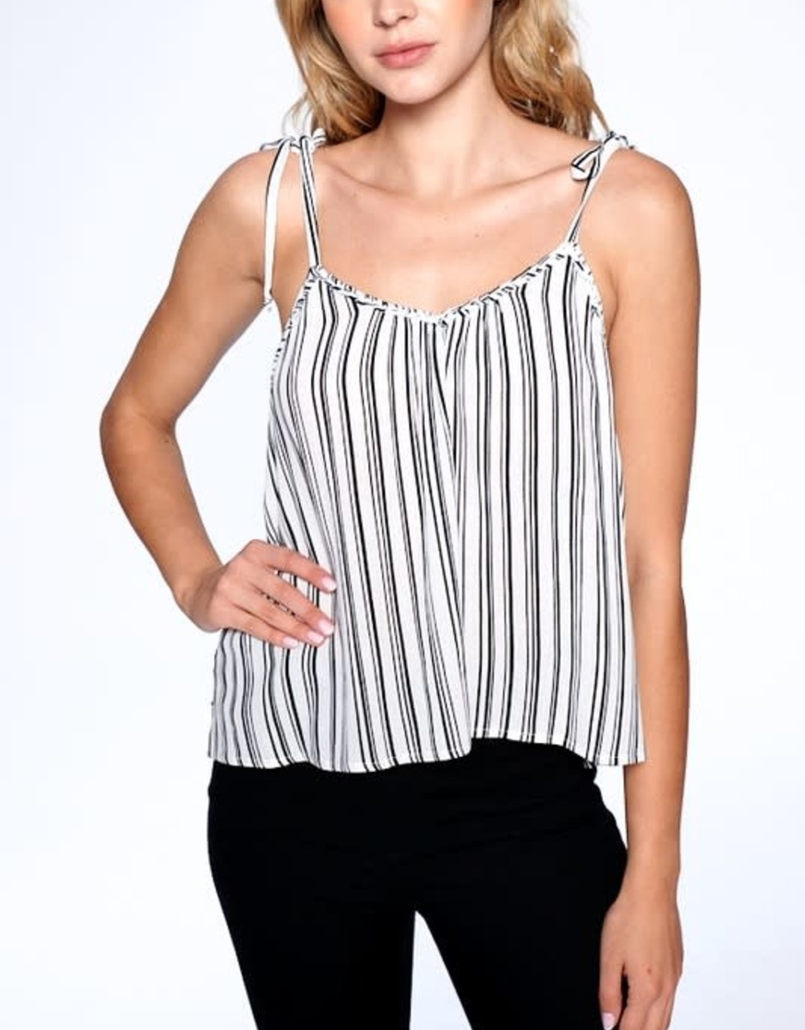 Oleanders Boutique cheyenne stripped cami