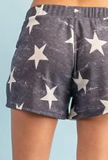Oleanders Boutique Star print comfy shorts