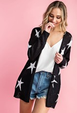 Oleanders Boutique Star cardigan