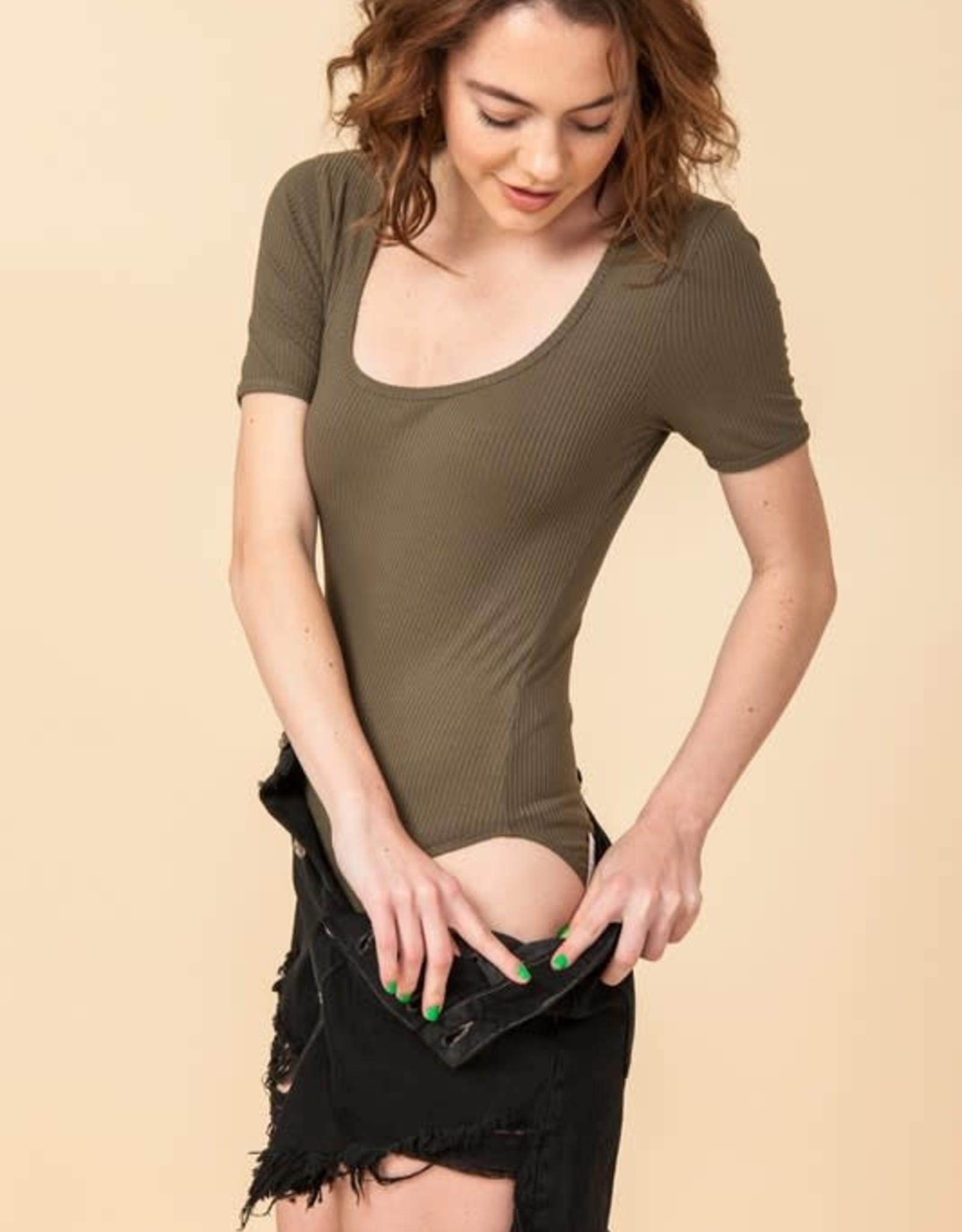 Oleanders Boutique Short sleeve bodysuit