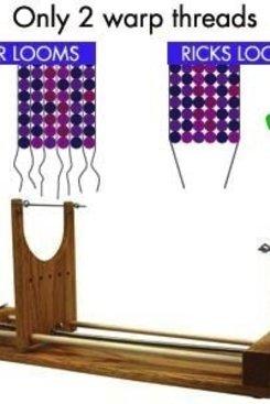 KNIT The Ricks Beading Loom - The Two Wrap Loom