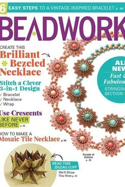 Magazines & Books Beadwork - 2017 04 Apr / May