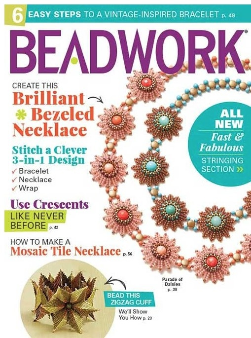 Magazines & Books Beadwork - 2017 04 Apr / May